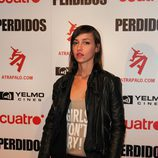 Sara da Pin Up en la première de 'Perdidos'