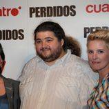 Ana Morgade, Jorge García y Tania Llasera