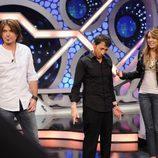 Billy Ray Cyrus, Pablo Motos y Miley Cyrus