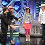 Pablo Motos, Miley Cyrus, Flipa y Billy Ray Cyrus