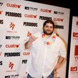 Jorge García en la première de 'Lost'