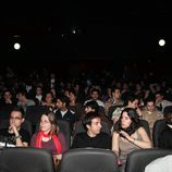 Seguidores de 'Perdidos' en el cine de Madrid