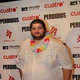 Hurley en la première de 'Lost' en Madrid
