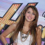 "Miley Cyrus en la première de ""Hannah Montana"""