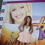 """Miley Cyrus viaja a España con """"Hanna Montana"""""""