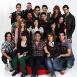 Foto del grupo de concursantes de 'OT 2009'