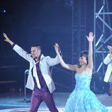 Ginés y Raquel bailan en 'Fama'