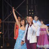Ginés y Raquel, pareja ganadora de 'Fama'