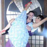 Ginés y Raquel bailan como pareja ganadora de 'Fama'