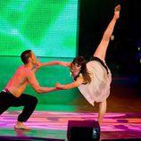 Ginés baila con Raquel en 'Fama'