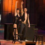 Raquel y Ginés en la final de 'Fama ¡a bailar!'