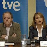 Javier Pons y Elena Sánchez