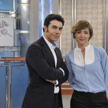 Sandra Barneda y Alberto Herrera presentan 'De buena ley'