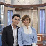 Sandra Barneda y Alberto Herrera en 'De buena ley'