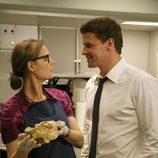 Brennan busca indicios en unas calaveras en 'Bones'