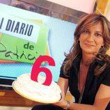 Patricia Gaztañaga celebra los seis años de 'El diario de Patricia'