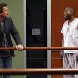 Hugh Laurie y Omar Epps