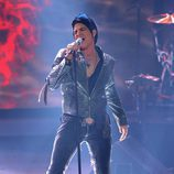 El cantante Adam Lambert en 'American Idol'
