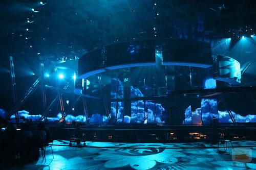 Escenario de Eurovisión 2009 en Rusia