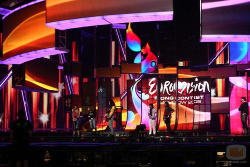 Escenario de Eurovisión 2009 de Moscú