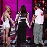 Soraya ensaya por primera vez su tema en el escenario de Eurovisión 2009