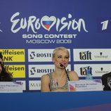 Soraya Arnelas en el Festival de Eurovisión