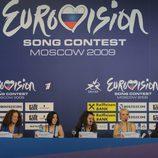Rueda de prensa de Soraya Arnelas en Moscú