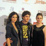 Yon González, Marta Torné y Blanca Suárez en el photocall