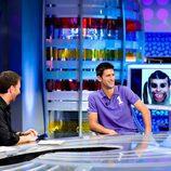Novak Djokovic en 'El hormiguero' de Antena 3