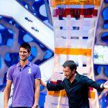 Novak Djokovic y Pablo Motos