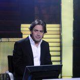 Antonio Garrido en el plató de '¿Quién quiere ser millonario?'