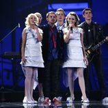 Intars Busulis, de Letonia, en Eurovisión 2009