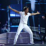 Sakis Rouvas, de Grecia en el Festival de Eurovisión