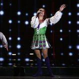 Nelly Ciobanu,  como candidata de Moldavia
