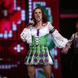 Nelly Ciobanu, representando a Moldavia