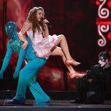 Kejsi Tola, de Albania, en Eurovisión 2009