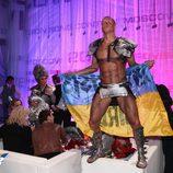 Bailarín ucraniano en la green room
