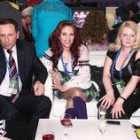Nelly Ciobanu en la green room de Eurovisión
