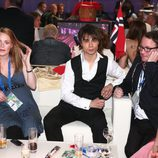Alexander Rybak en la green room