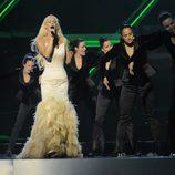 Malena Ernman, de Suecia, en Eurovisión