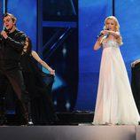 Igor Cukrov y Andrea Susnjara representan a Croacia en Eurovisión 2009