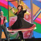 Flor-de-lis en 'Eurovisión'