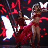 Hadise canta en Eurovisión
