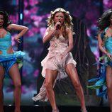 """Elena Gheorghe canta en Eurovisión 2009 """"Las chicas balcánicas"""""""