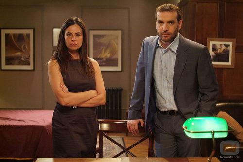 Lola Baldrich y Luis Merlo