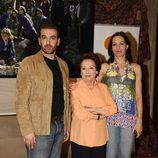 Luis Merlo, Amparo Baró y Natalia Millán en 'El internado'