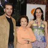 Luis Merlo, Amparo Baró y Natalia Millán