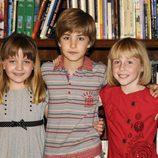 Niños de la quinta temporada de 'El internado'
