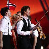 Alexander Rybak le da la victoria a Noruega en Eurovisión 2009