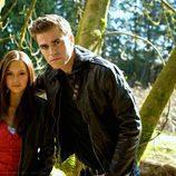Nina Dobrev y Paul Wesley en 'The Vampire Diaries'